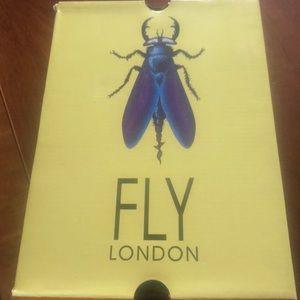 EUC Fly London rose shoes